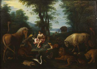 ATTRIBUÉ À ISAAC VAN OOSTEN (1617 - 1661)