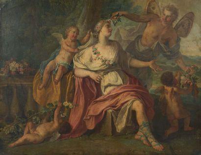 ATTRIBUÉ À MATTHEUS TERWESTEN (1670-1757)