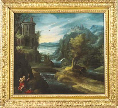 ÉCOLE FLAMANDE VERS 1620, ENTOURAGE DE PAUL BRIL