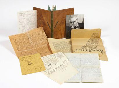 Pierre ALBERT-BIROT. Le Premier Livre de Grabinoulor composé entre 1918 et 1920....