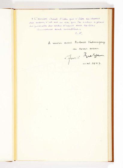 André BRETON. Ode à Charles Fourier. Paris, Éditions de la revue Fontaine, 1947....