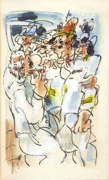 Louis-Ferdinand Céline. Voyage au bout de la nuit. Roman. Nouvelle édition avec 155...
