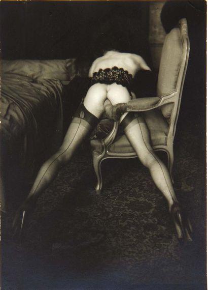 Pierre MOLINIER. 2 Photographies. 2 photographies originales, tirage argentique (115...
