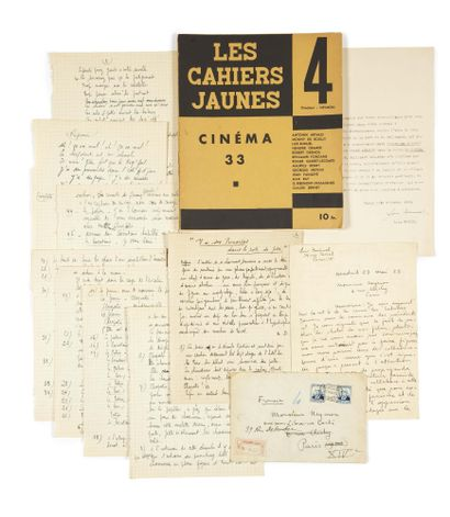 LES CAHIERS JAUNES. Cinéma 33. Paris, Librairie...