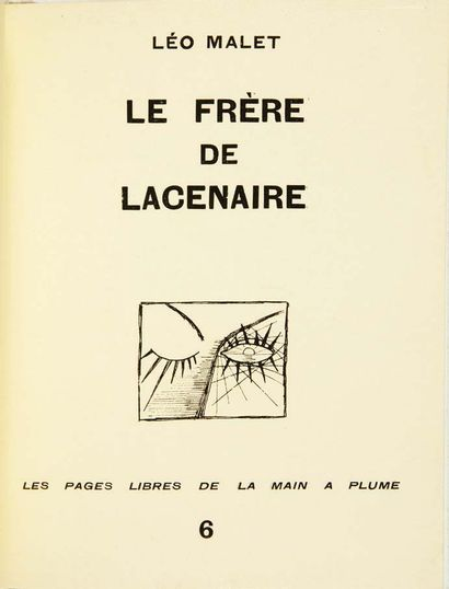 [HAND TO FEATHER]. Les Pages libres de la Main à plume. Paris, la Main à Plume,...