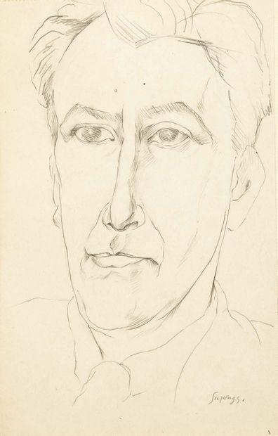 Guillaume APOLLINAIRE. André Salmon. Sans lieu ni date [1908]. Manuscrit autographe...