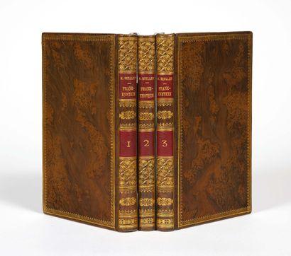 Mary SHELLEY. Frankenstein, or the Modern Prometheus. London, Lackington, Hugues,...