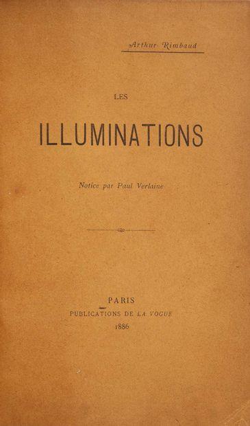 Arthur RIMBAUD. Les Illuminations. Notice par Paul Verlaine. Paris, La Vogue, 1886....