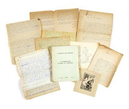 [REVUE]. Cahiers de poésie : Le Surréalisme...
