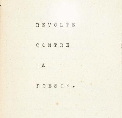 Antonin Artaud.