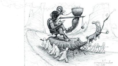 GORDON, DAVID WWW.ILLUSTRATIONRANCH.COM Dave Gordon est auteur et illustrateur de...