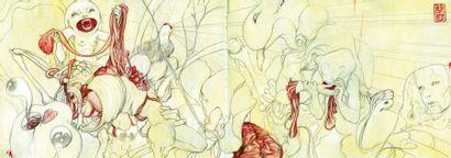 JEAN, JAMES WWW.JAMESJEAN.COM Né à Taïwan en 1979, James Jean est un illustrateur...