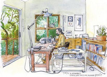 LE PENNEC, BENOÎT Né en France en 1962, Benoît Le Pennec a d'abord travaillé sur...