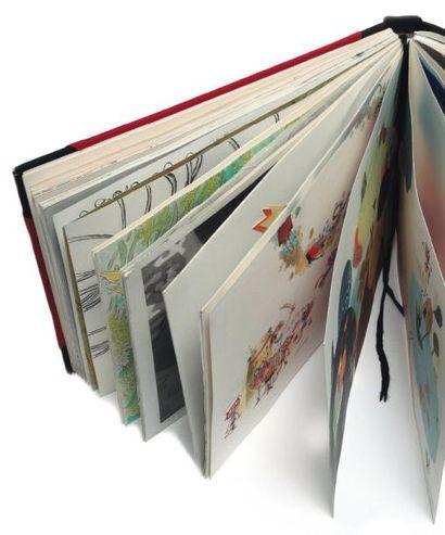 SKECHTRAVEL, LE CARNET VOYAGEUR Carnet de format A4 de 120 pages contenant des dessins...