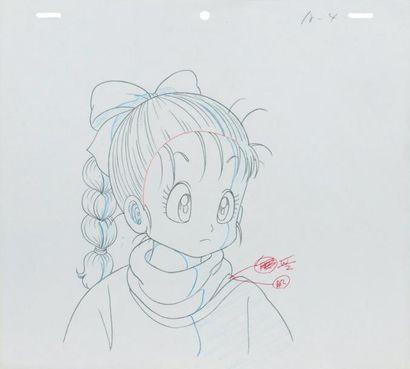 TOEI ANIMATION MINURO OKASA Ki (1942) & DAISU KE NIS HIO (1959) Dragon Ball, 1986...