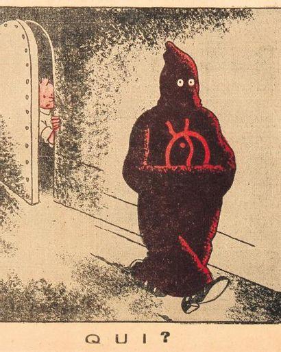 HERGÉ « Petit Vingtième » le journal du jeudi 16/11/1933 n°46 (le sceptre d'ottokar)...