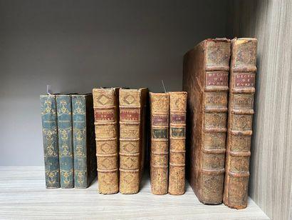 Lot comprenant deux dictionnaires de Richlet...