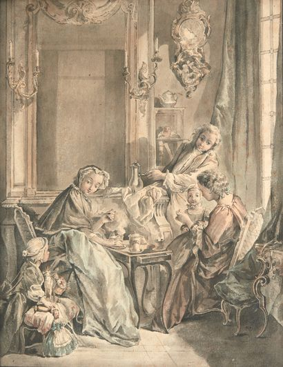 Ecole française du XVIIIe siècle, d'après...