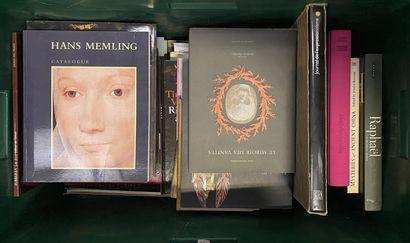 Lot de livres beaux Arts