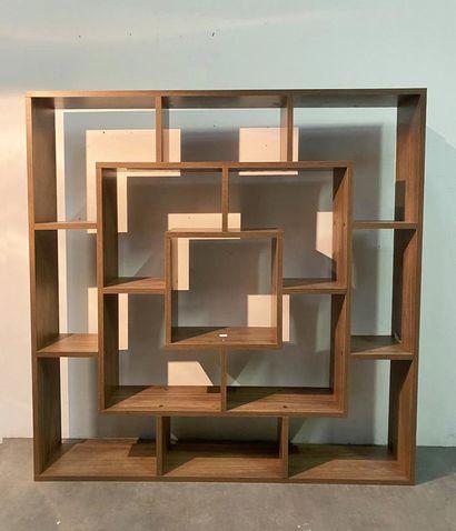 Bibliothèque moderne Mélaminé H_125,5 cm...