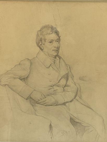Jean-Auguste Dominique INGRES (d'après) Portrait...