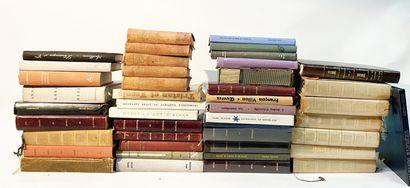 Lot de livres littérature comprenant notamment...