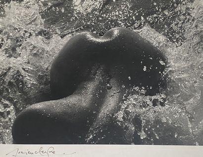 Lucien Clergue (1934-2014) Née de la vague,...