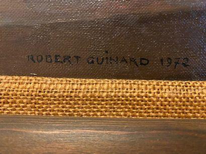 Robert Guinard (1896-1989) Nature morte aux oignons Huile sur toile signée en bas...