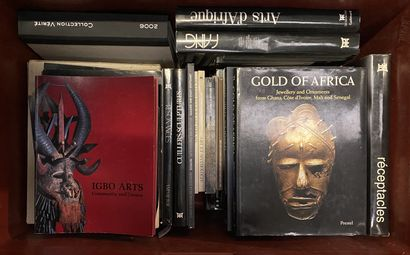 Lot de documentation et catalogues d'exposition arts primitifs