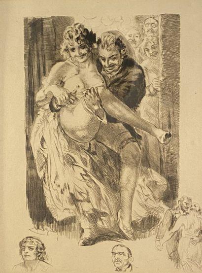 Almery Lobel Riche (1877-1950) Six estampes...
