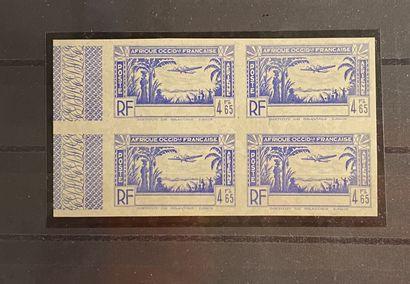 COLONIES FRANCAISES Emissions 1906/1946 GRANDES SERIES COLONIALES : Ensemble de...