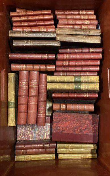 Lot de livres comprenant : litterature française et divers, dictionnaires etc.