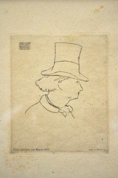 Edouard MANET (1832-1883)  Portrait de Charles...
