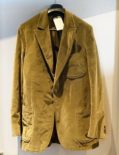Lot de deux vestes en velours l'une Franscesco...