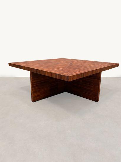 Grand bureau / table de conférence Placage...