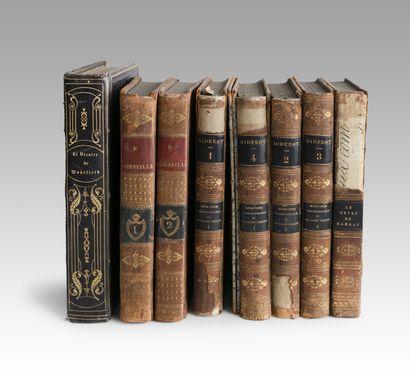 Lot de livres comprenant: -GOLDSMITH (Oliver)...