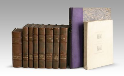 Lot de livres comprenant: - BRIAND (Aristide)...