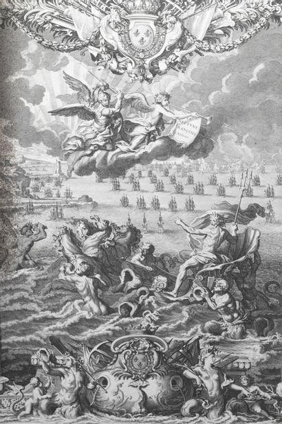 BELLIN. Neptune François. 1er volume. 1753....