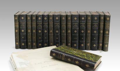 Lot de livres comprenant: -PROUST (Marcel)...