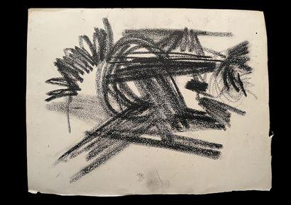 Bengt Lindström (1925-2008) Composition. Ensemble de deux dessins à l'encre sur papier....
