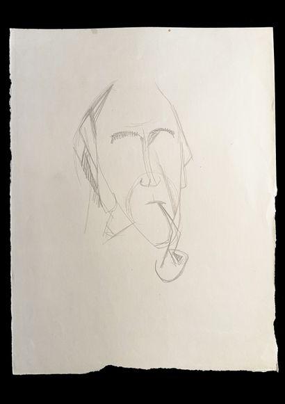 Bengt Lindström (1925-2008) Etude. Ensemble de trois dessins 1 Encre sur papier :...