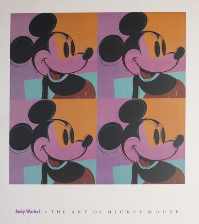 Ensemble de 7 pièces encadrées : - Super Warhol, H_60 cm L_40 cm - Razzia, Japon,...