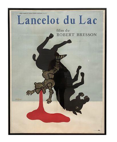 Ensemble de trois affiches de cinéma Harry Baur, Le juif polonais, Lancelot et Orange...