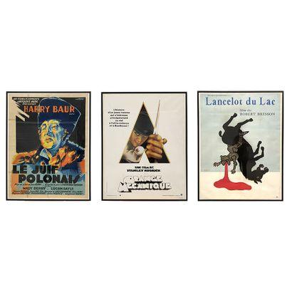 Ensemble de trois affiches de cinéma Harry...