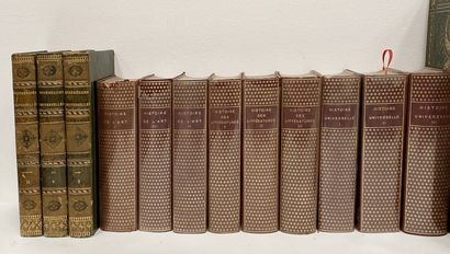 Ensemble comprenant : - F Guizot Histoire de France tomes I, II, III, IV, IV - Histoire...