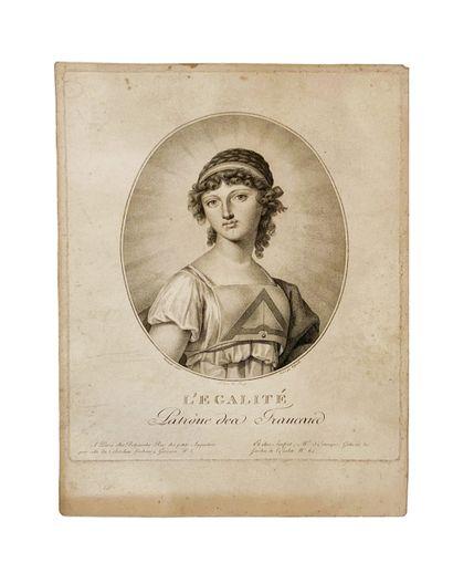 Pierre Beljambe (1759-1838) L'égalité Patronne...