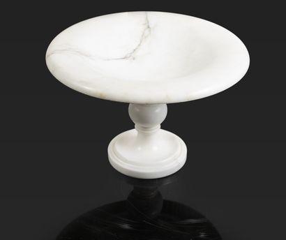 Vide poche en marbre (bon état général) H_15,5...