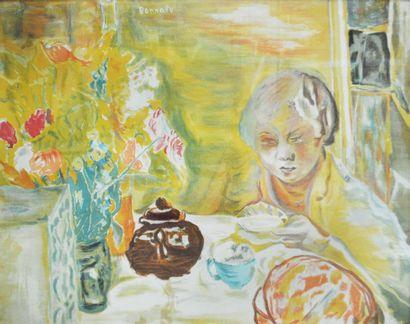 Pierre Bonnard (1867-1947) Le déjeuner Lithographie...