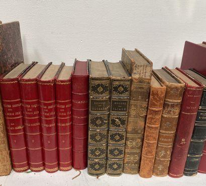 Fort lot de littérature dont Dumas fils, Racine, E. Rostand, Paul Valerie etc. En...