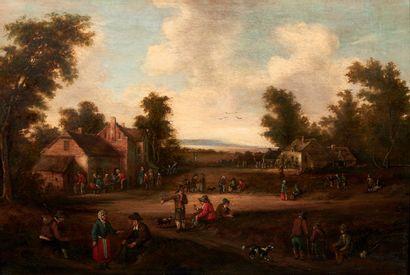 ATTRIBUÉ À CORNELIS DROOCHSLOTT (1630 - 1673)...